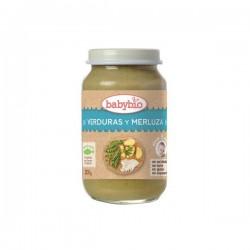 potito verduras y merluza babybio 200g