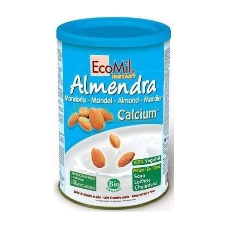 BEBIDA ALMENDRA CALCIO POLVO  400GR. ECOMIL
