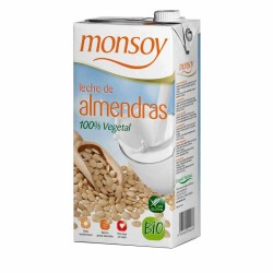 BEBIDA ALMENDRAS CON AGAVE MONSOY 1L