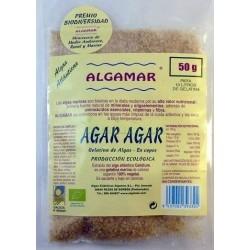 AGAR AGAR EN COPOS 50GR. ALGAMAR