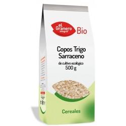 COPOS DE TRIGO SARRACENO 500GR. EL GRANERO INTEGRA