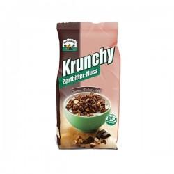 KRUNCHY CHOCO  NEGRO Y AVELLANAS 375GR BARNH.