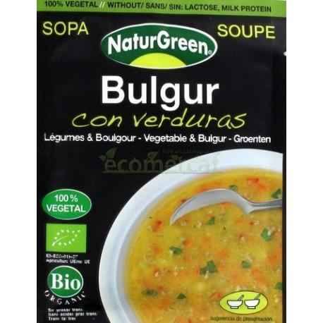 SOPA BULGUR CON VERDURAS 40GR NATURGREEN