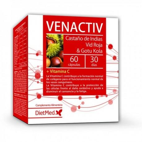 VENACTIV, 60 CAPSULAS, DIETMED
