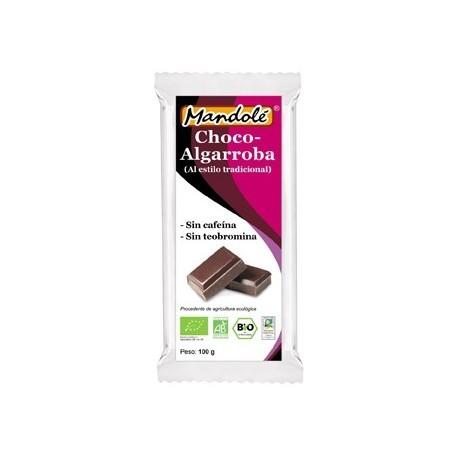 CHOCO-ALGARROBA MANDOLE 100GR