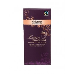 CHOCOLATE 100% NATURATA 80GR