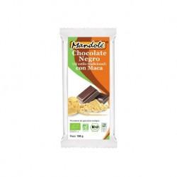 CHOCOLATE NEGRO CON MACA MANDOLE 100GR