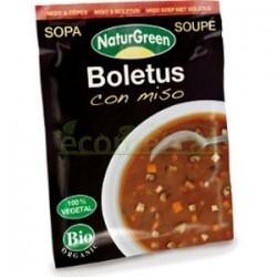 SOPA BOLETUS CON MISO 40GR NATURGREEN