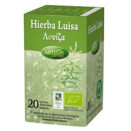 INFUSION HIERBA LUISA 20 FILT. ARTEMIS