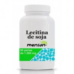 lecitina de soja 1500mg mensan 90 perlas
