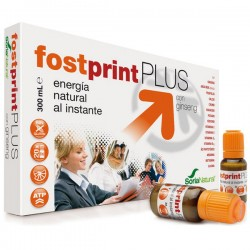 FOST PRINT PLUS ginseng 20 viales,SORIA NATURAL