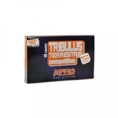TRIBULUS TERRESTRIS 48 CAP 600 MG, MEGA PLUS