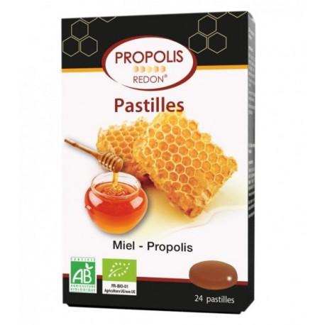 PASTILLAS PROPOLIS MIEL REDON 24 PAST