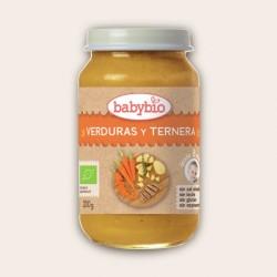POTITO VERDURAS Y TERNERA BABYBIO 200G