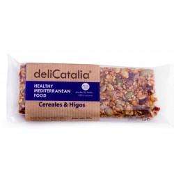 BARRITAS DELICATALIA CEREALES & HIGO, 50 GR