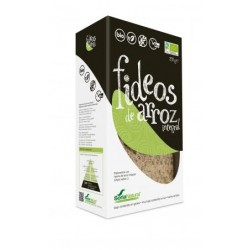 FIDEO DE ARROZ INTEGRAL 250GR.  SORIA NATURAL