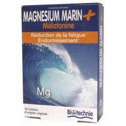 MAGNESIO MARIN + MELATONINA 30 CAPS BIOTECHNIE