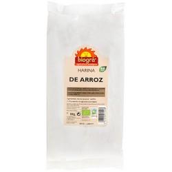 HARINA DE ARROZ 500GR BIOGRA