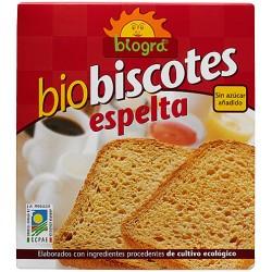 BIO BISCOTES ESPELTA 270GR   BIOGRA