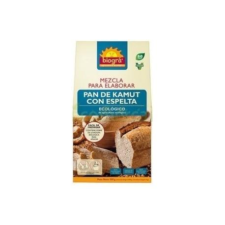 MEZCLA PARA ELABORAR PAN DE KAMUT CON ESPELTA 509G