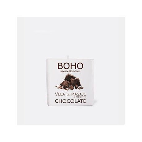 VELA MASAJE CHOCOLATE BOHO 80GR