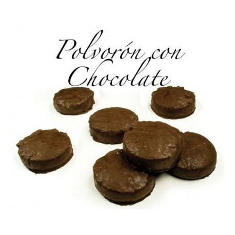 POLVORONES CHOCOLATE 300 GR PASTECO