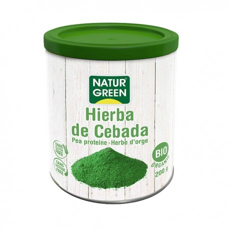 HIERBA DE CEBADA 200GR NATURGREEN
