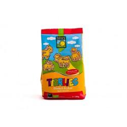 TIERLIES GALLETAS ESPELTA ANIMALES 150GR BIOGRÁ