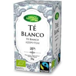 TÉ BLANCO 20 FILTROS ARTEMIS