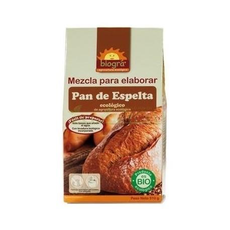 MEZCLA  ELABORAR PAN DE ESPELTA BIOGRÁ