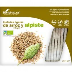 TOSTADAS DE ARROZ Y ALPISTE 25X4G SORIA