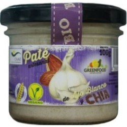 PATE AJO BCO Y CHIA 100GR GREEN FOOD