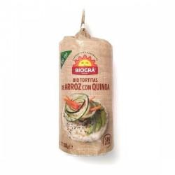 TORTAS DE ARROZ CON QUINOA BIOGRA 100GR