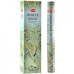 INCIENSO WHITE SAGE SALVIA BLANCA 20 VAR. SAC