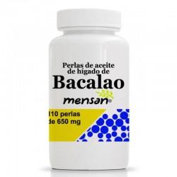 ACEITE DE HIGADO DE BACALAO MENSAN 110 PERLAS