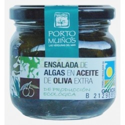 ENSALADA DE ALGAS ACEITE OLIVA 160GR PORTO MUIÑOS