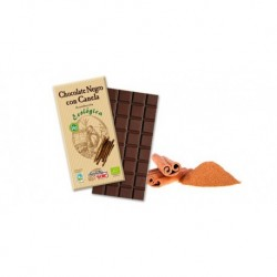 CHOCOLATE NEGRO 56% CON CANELA 100GR SOLE