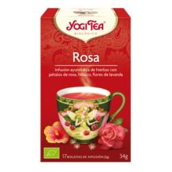 YOGI TEA ROSA 17BAG