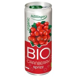 REFRESCO ARANDANOS ROJOS 250ML HOLLINGER
