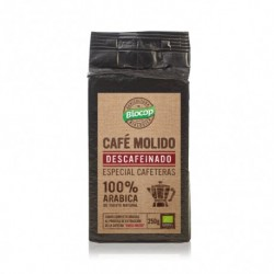 CAFE MOLIDO DESCAFEINADO 100% ARABICA 250G BIOCOP