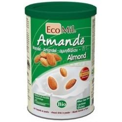 BEBIDA DE ALMENDRA EN POLVO 400GR. ECOMIL.