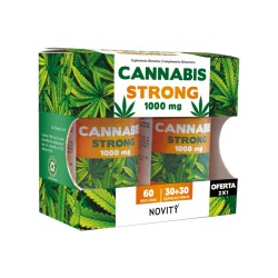 CANNABIS STRONG 1000MG 2X30CAP NOVITY