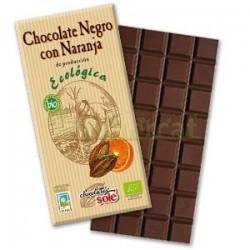 CHOCOLATE NEGRO 56% CON NARANJA 100GR SOLE