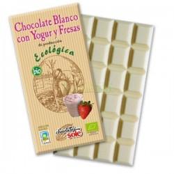 CHOCOLATE CON YOGUR Y FRESAS 100GR SOLÉ