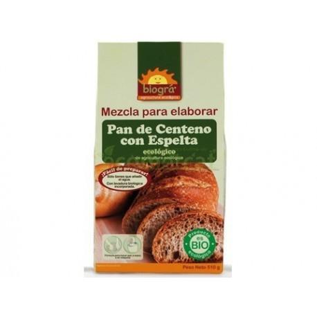 MEZCLA PARA ELABORAR PAN CENTENO CON ESPELTA 509 G
