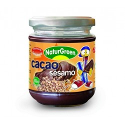 CREMA DE CACAO Y SESAMO 200GR NATURGREEN