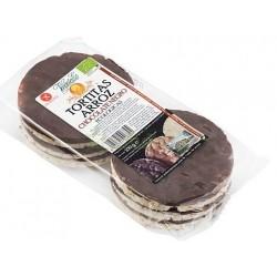 TORTAS DE ARROZ DE CHOCOLATE NEGRO ECO. 100 GR. VE