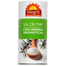 SAL DE MAR CON HIERBAS AROMÁTICAS 225GR BIOGRÁ