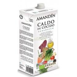 CALDO DE COCIDO ECO. 1L. AMADÍN