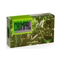 CHUMPAL ZUMO DE NOPAL 20 AMPOLLAS, 200ML. PLANTIS